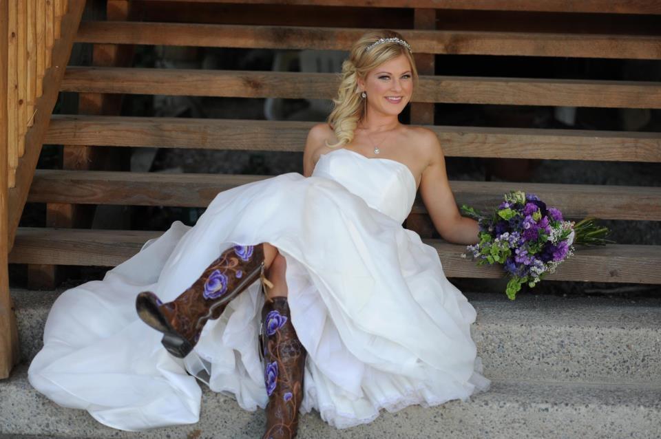 mariage en santiags